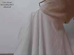 lingerie strip-tease étudiant webcam