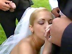 pijpbeurt bruid gelaats
