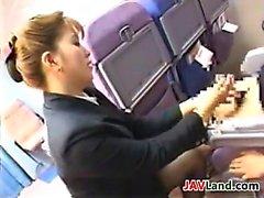asiático mamada japonés milf uniforme