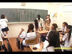 aasialainen college ryhmäseksiä hd