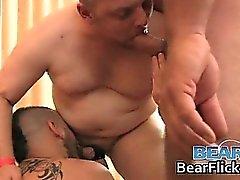 Gay bear bukkake hardcore jizz facials