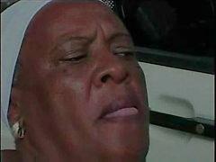zwart en ebony braziliaans grannies