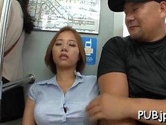 asiático grandes tetas duro japonés adolescente