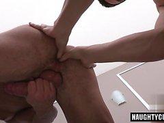 Hot boy rimming with cum swap