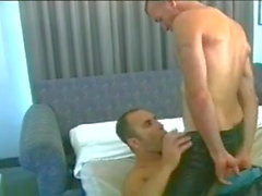 hot daddy gets a blowjob (0:00min - 9:15min)