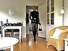 Sissy Sexy Leather Doll