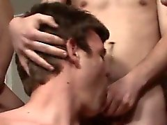 Gay porn Bukkake with Nervous Nathan
