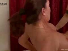 Hot TGirl Nina Lawless Fucks Magdalene St Michaels Bare-Back