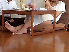 amateur asiático fetichismo del pie japonés coreano