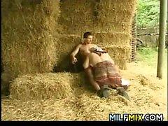 MILF Fucking On The Farm