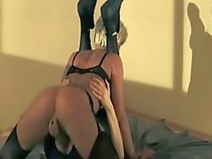 brunetta feticcio cazzo lesbica nylon