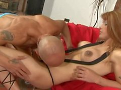 Thick Shemale get's pounded