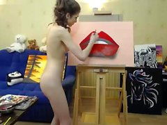amatööri ruskeaverikkö teini-ikäinen webcam