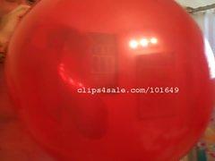 Balloon Fetish - Edward Popping Balloons Part4 Video1