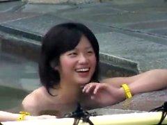 dilettante asiatico giapponese pubblico adolescente