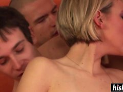 Bianca has fun with bisexual friends