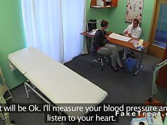 Doctor pov fucks short haired patient