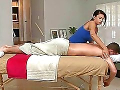 Getting ass filled at massage