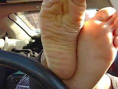 bisexuales femdom fetichismo del pie trabajando con el pie stoner