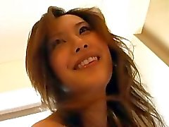 Jap Milf Bends Over To Get Toyed