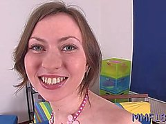 salacious russian angela adores blowjobs