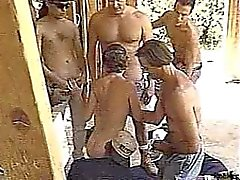builders gangbang two girls