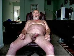 Old Man Wanking