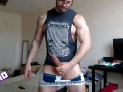 Premature/Accidental 5 - 32 Loads of a Latino Hunk Milked to Handsfree Ruined Orgasms on Chaturbate