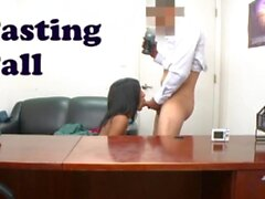 BANGBROS - Isabella Pena Receives A Backroom Facial During Casting Session