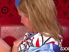 mature lesbo enjoys a toy feature