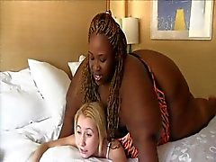 Ssbbw ebony skinny white girl 2
