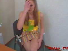 lever riding makes adorable teen maiden helen cum