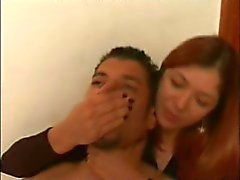 red femdom smother