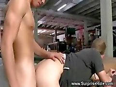 Dude drilled in his ass by straight dude