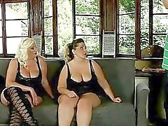 Very fat bitches fuck a gardener outdoor