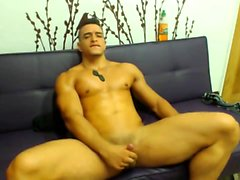 Amateur hunks jerk squirt
