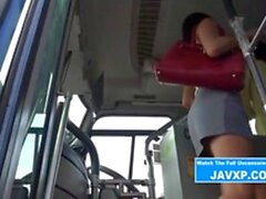 Amazing Japanese Teen Gets On The Bus