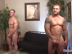 Brian Green & Connor Stevens ( Jerk Off & Cum )