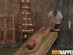 boycapped grand bradley chris jansen rasés manscaping bougie à gorge cire