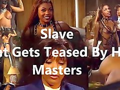 Slave that gets teased by her masters