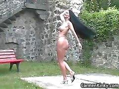 amateur bdsm slavernij brunette dominatrix