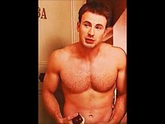 Chris Evans Jerk Off Cum Challenge Gay Celebrity Compilation