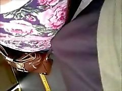 touching boobs with dick in bus