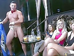 Huge club full of really hot and horny women