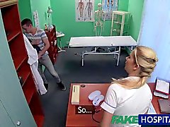 FakeHospital Caught giving nurse a creampie