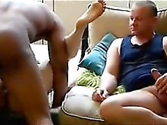 blond hardcore fait maison interracial