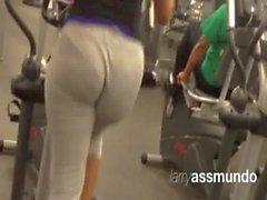 Leg Booty Elliptical Workout