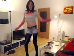 Smocking Hot Dance Emo Girl