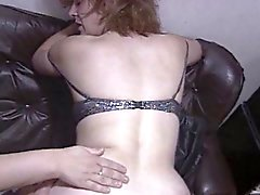 Two chubby milfs pleasing a guy