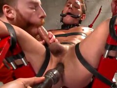 Alexander Gustavo Edging Hot Uncut Cock In Prison